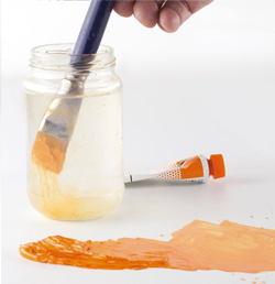 olio all'acqua